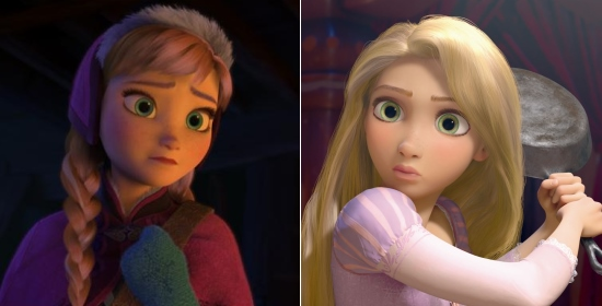 rapunzel has a cameo in frozen so secret that tangled director