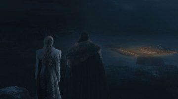 GOT Jon and Dany overlook