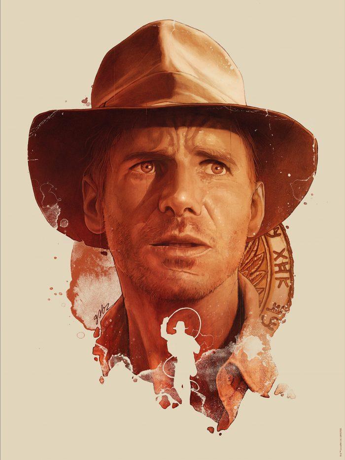"Gabz ""Indiana Jones"" Giclee"