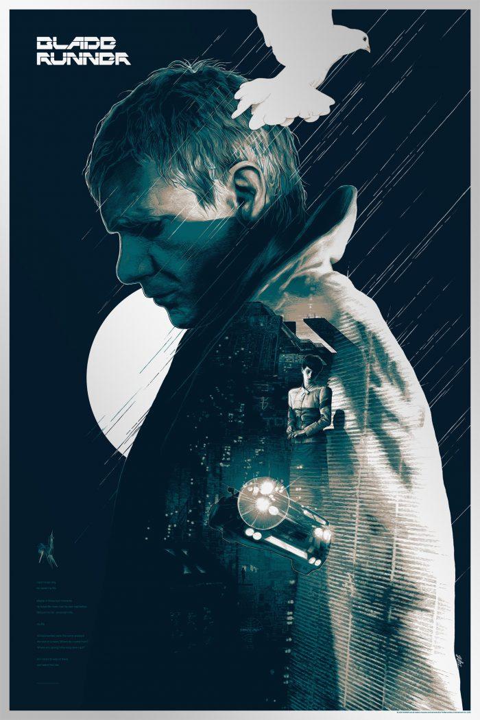 """Gabz """"Blade Runner"""" Variant Screen print"""
