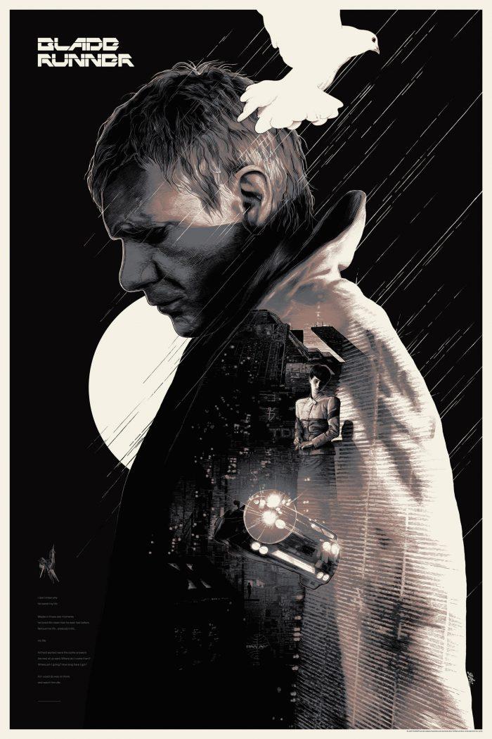 "Gabz ""Blade Runner"" Screen print"