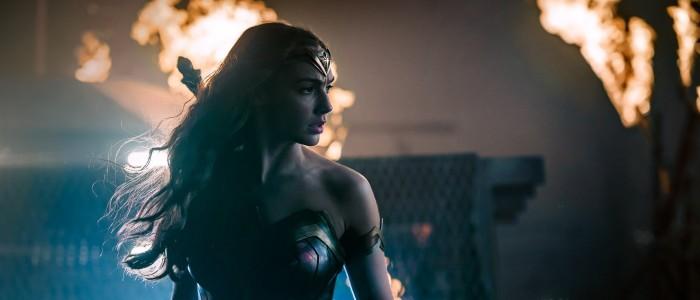 Gal Gadot as Wonder Woman in Justice League