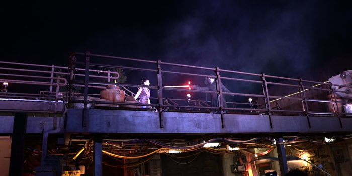 Video: 'Star Wars: Galaxy's Edge' Should Be Like THIS Every Night: Lightsaber Battles & Flying X-Wings, Wustoo