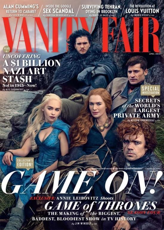 Game of Thrones Vanity Fair cover