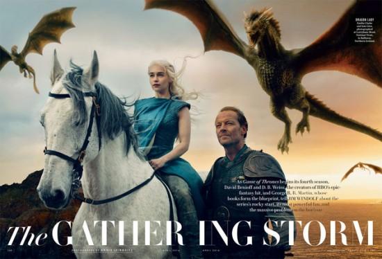Game of Thrones Vanity Fair spread