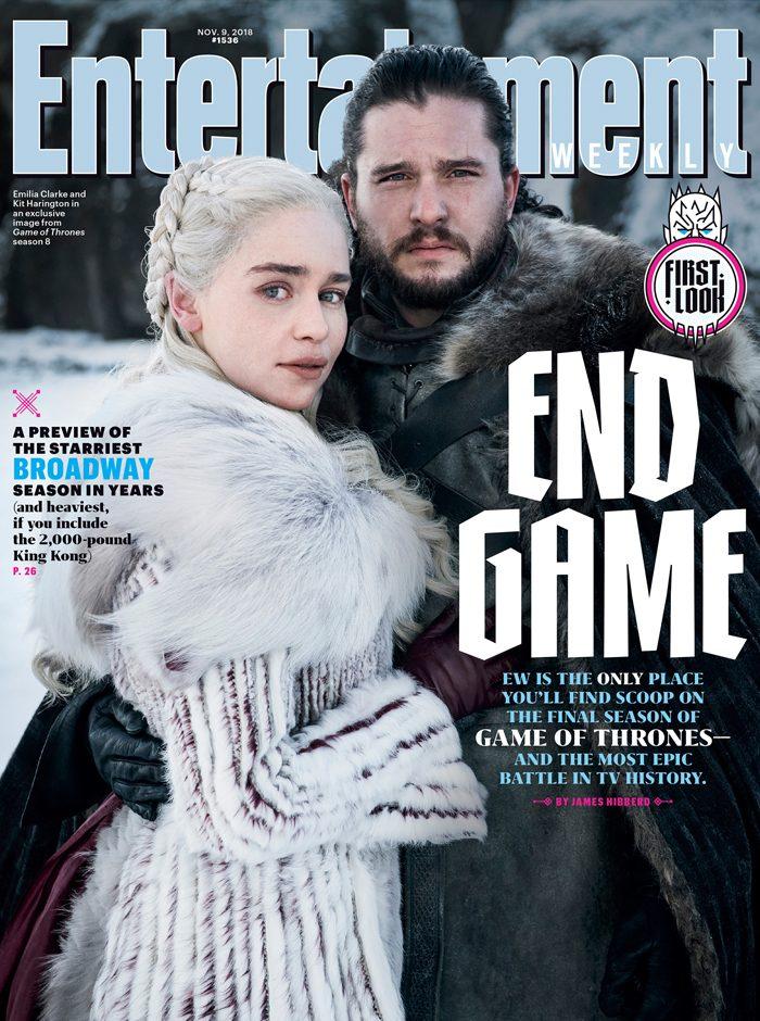Game of Thrones season 8 EW cover