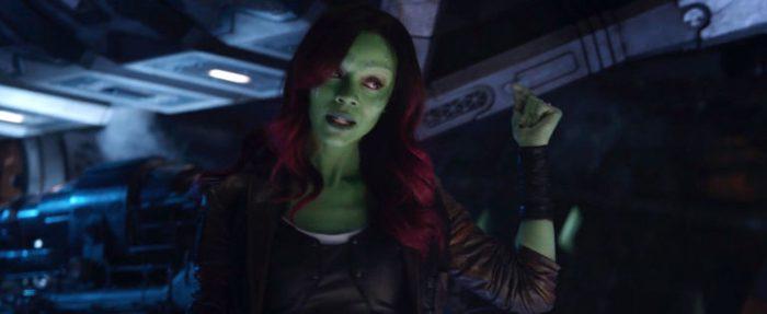 Gamora snap