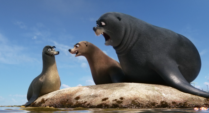 Gerald Finding Dory