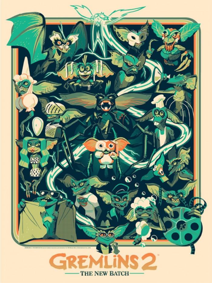 Glen Brogan's Gremlins 2 Print