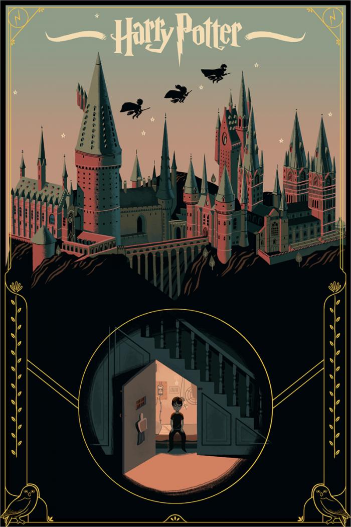 Glen Brogan Harry Potter