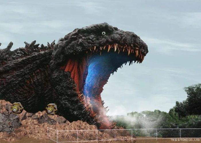Godzilla theme park attraction concept art 1