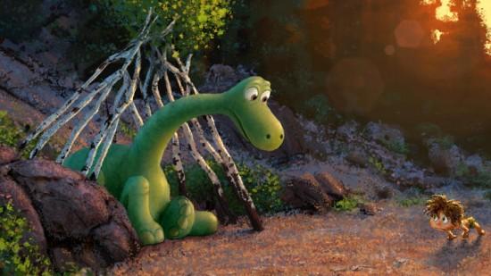 Good Dinosaur Arlo art