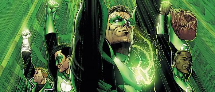 Green Lantern Rebirth cover