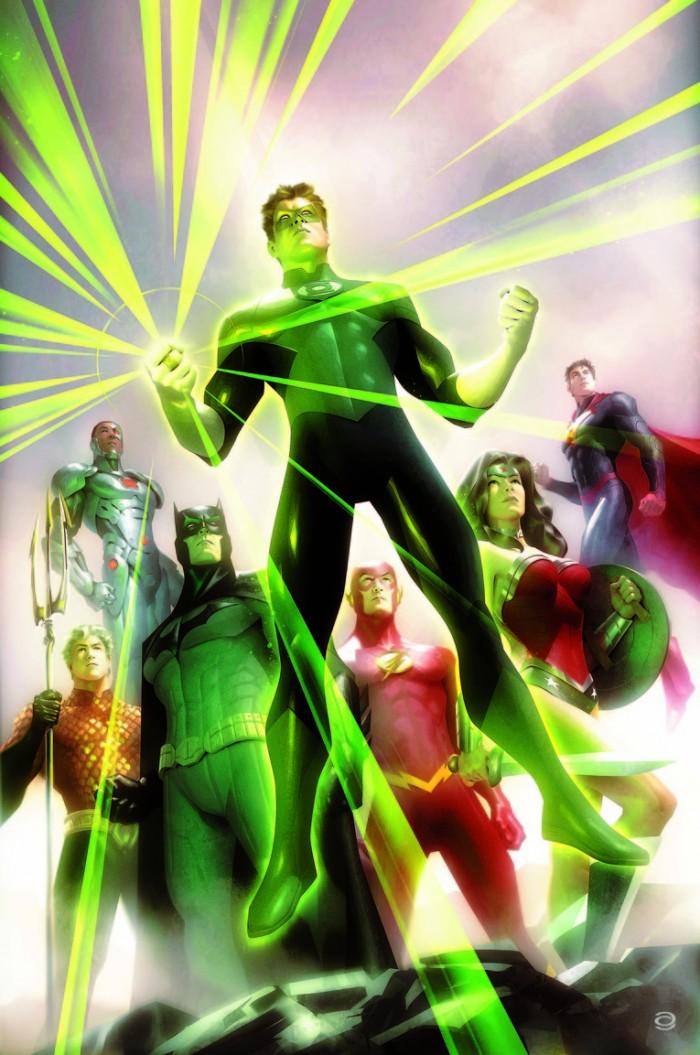 Green Lantern variant cover