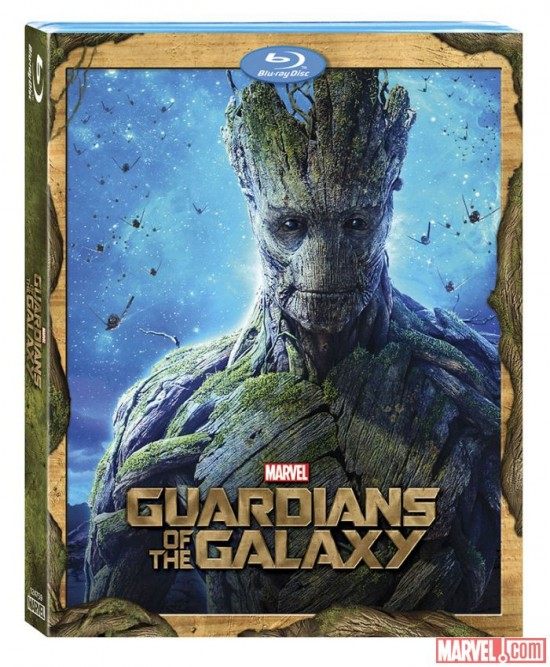 Groot Guardians Blu-ray cover