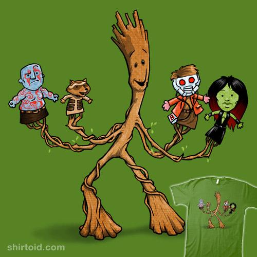 Groot Puppet shirt