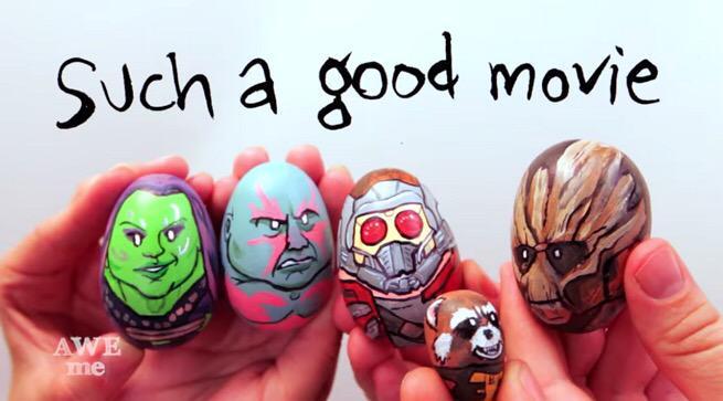 Guardians Easter Eggs