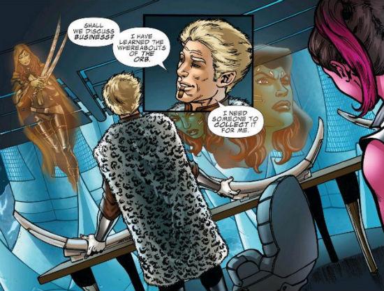 Guardians prequel comic