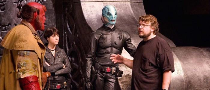 Guillermo del Toro directing Hellboy 2