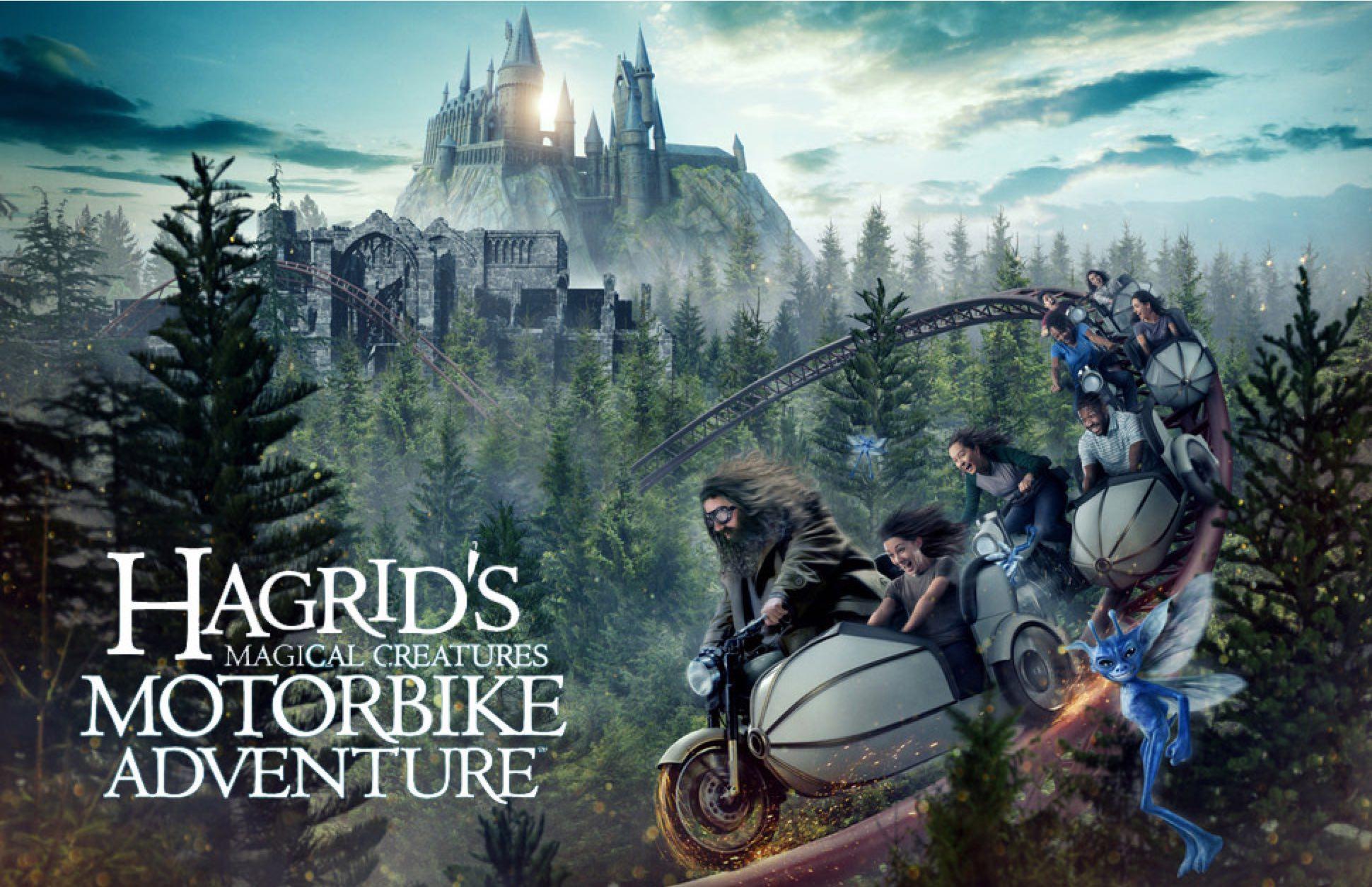 Hagrid's Magical Creatures Motorbike Adventure Review – /Film