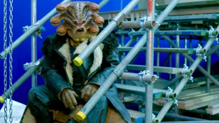 Young Han Solo alien Star Wars