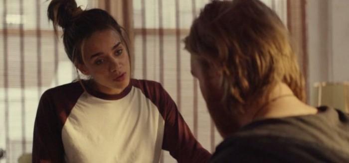 Hannah John-Kamen in Black Mirror episode Playtest