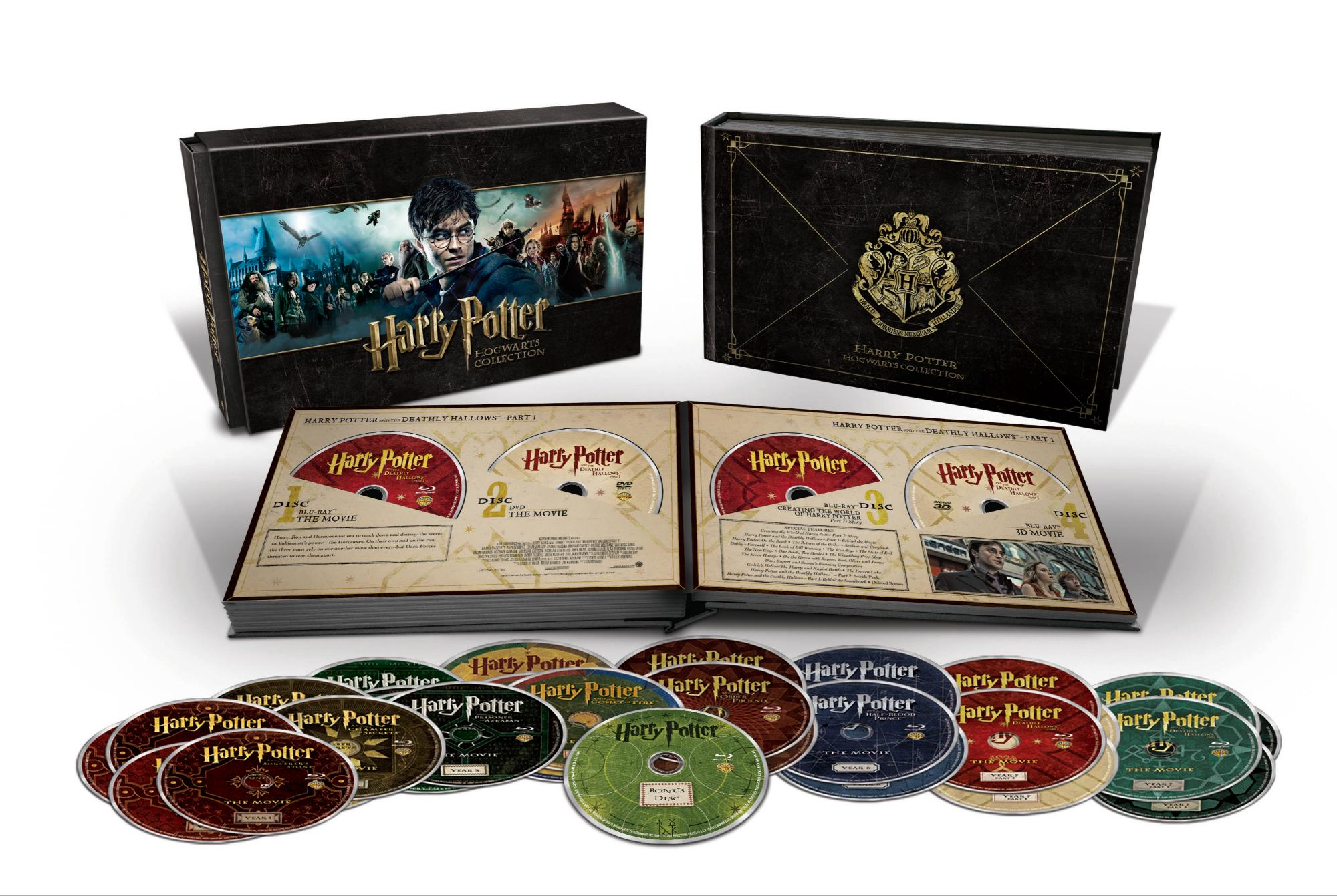New 31 Disc Harry Potter Hogwarts Collection Out Soon