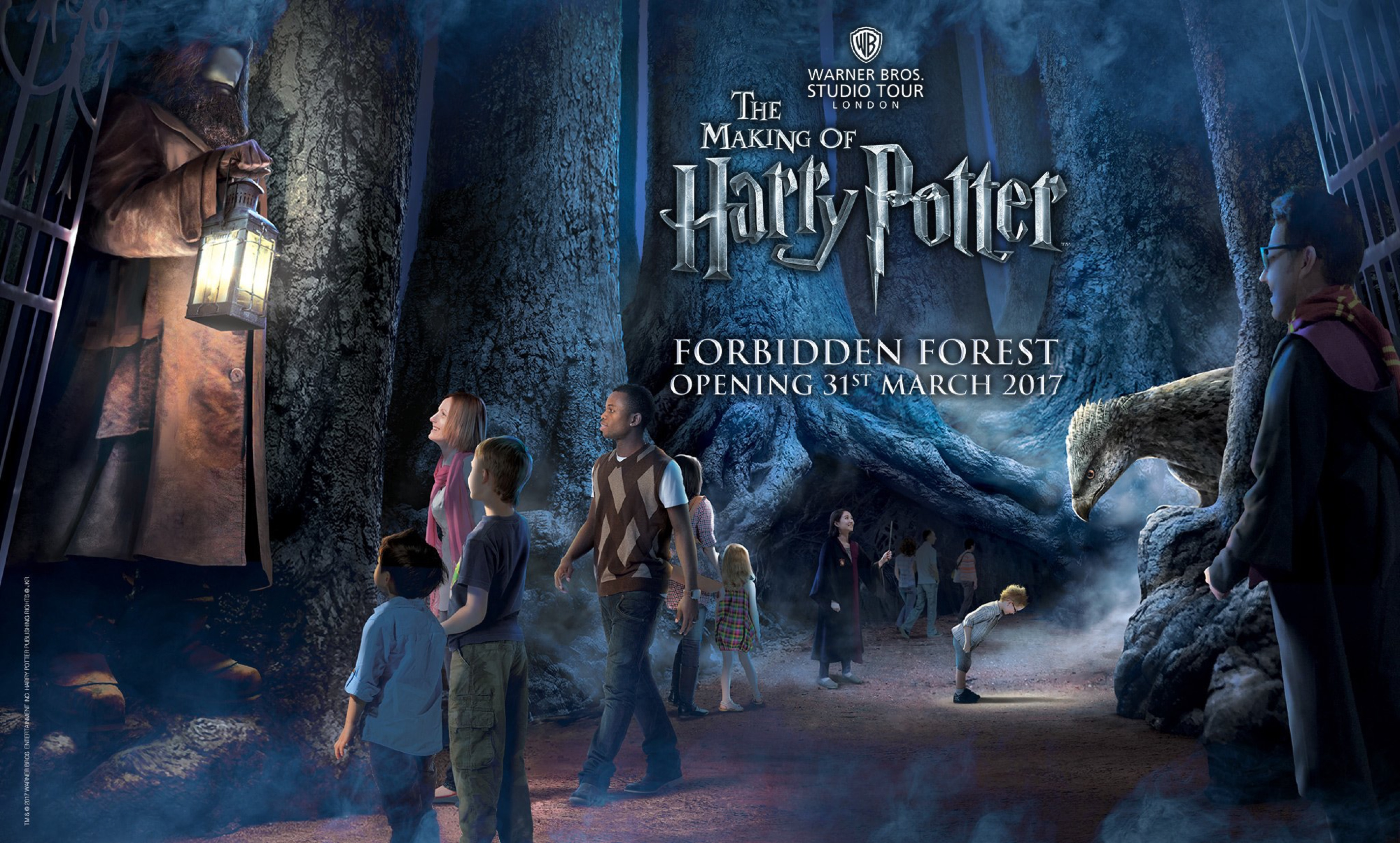 harry potter studio tour forbidden forest expansion announced. Black Bedroom Furniture Sets. Home Design Ideas