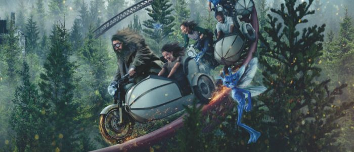 Hagrid Gets His Motor Running in First Look at Universal