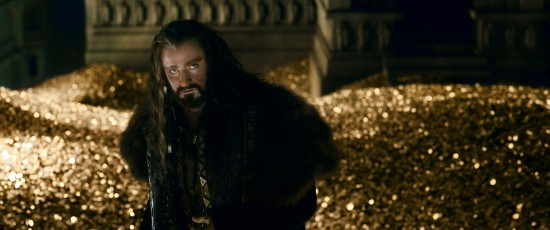 Hobbit Battle of the Five Armies Thorin Gold