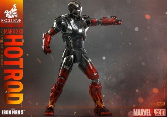 Hot Toys Hot Rod Iron Man 3