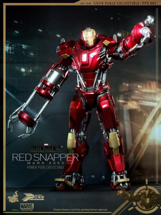 Hot Toys Red Snapper