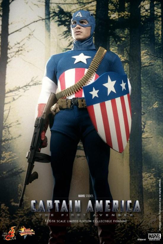 Hot Toys Star Spangled Captain America