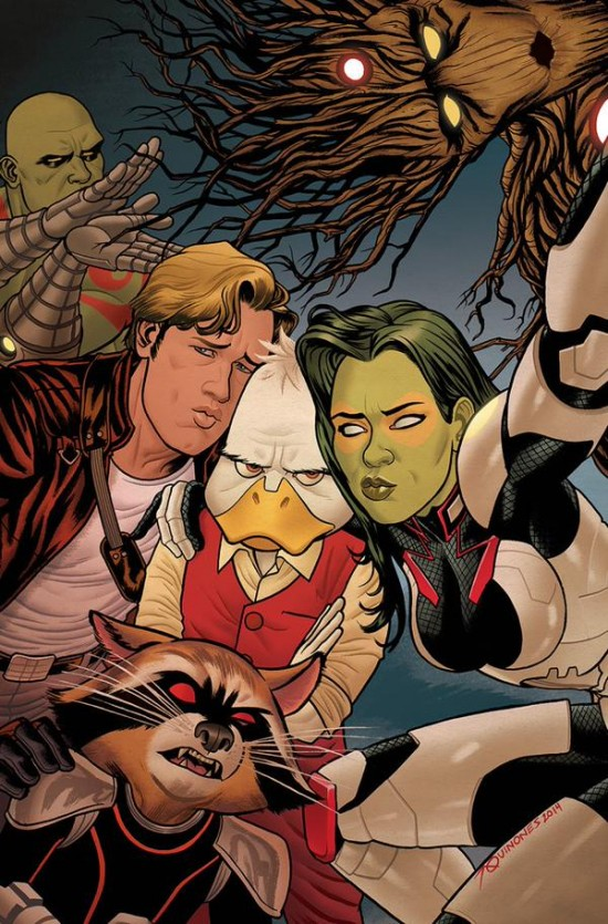 Howard the Duck Guardians cover