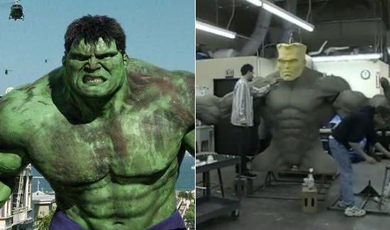 ang lee s unused hulk robot film