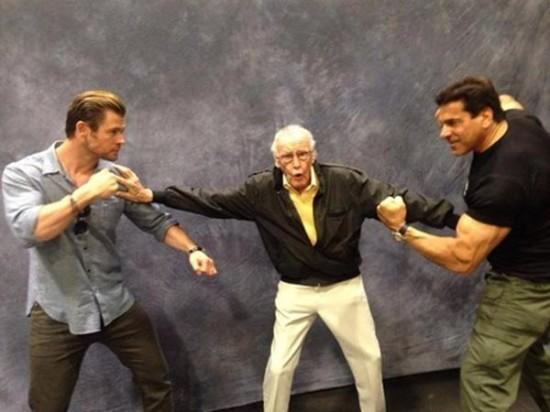 Hulk Thor Stan Lee