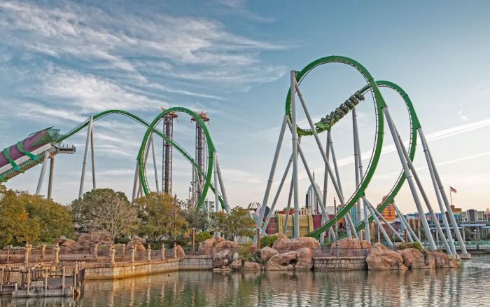 The Incredible Hulk Coaster Closes