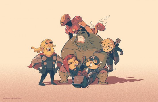 I Am Hawk Avengers