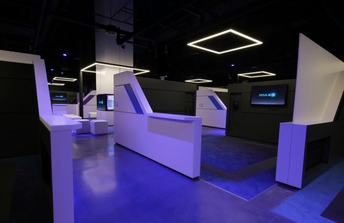 IMAX VR Centre - Pod Layout
