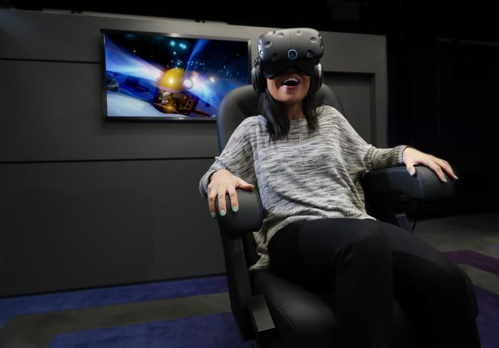 IMAX VR Centre - Rabbids VR Ride