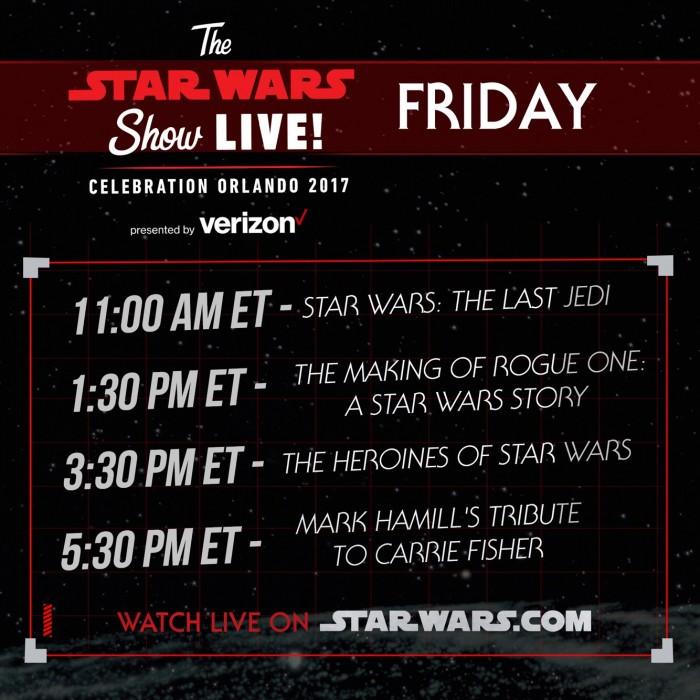 Star Wars Celebration Friday
