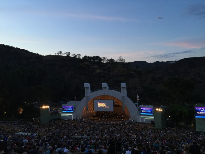 Back to the Future Hollywood Bowl
