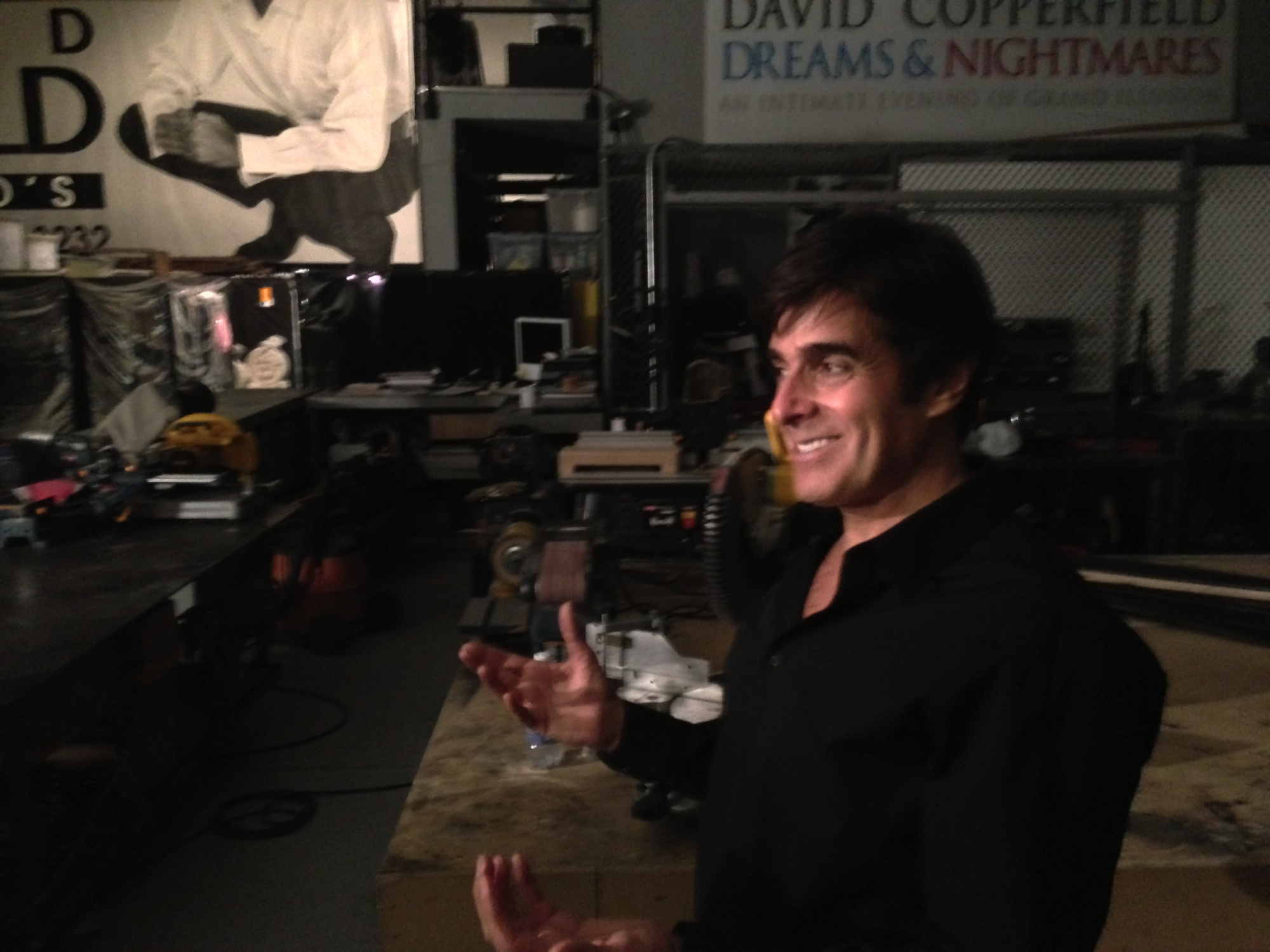 Film visits david copperfields secret warehousemuseum to learn the when m4hsunfo