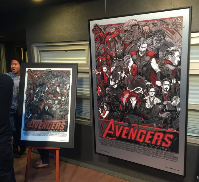 Tyler Stout Avengers: Age of Ultron poster
