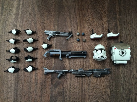 Sideshow Star Wars Clone Trooper Deluxe