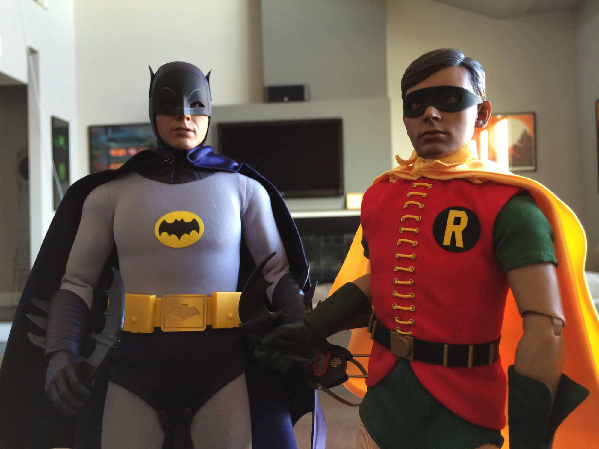 Cool Stuff: Hot Toys Batman and Robin 1960s TV Sixth Scale ...