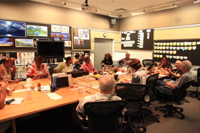Moana story room