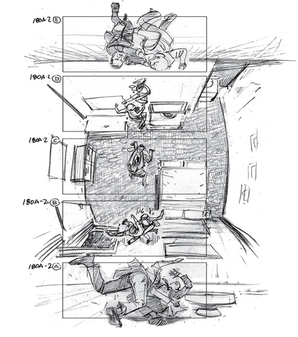 inception storyboard