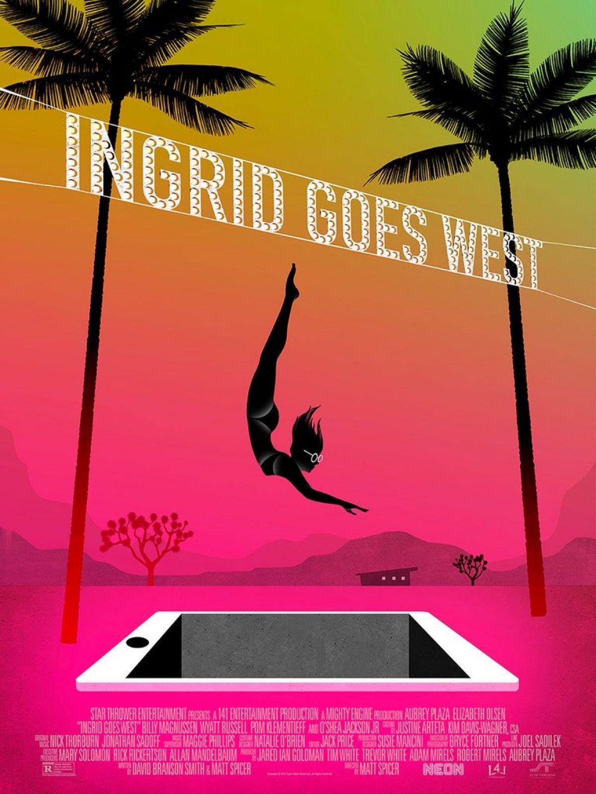Ingrid Goes West Mondo poster