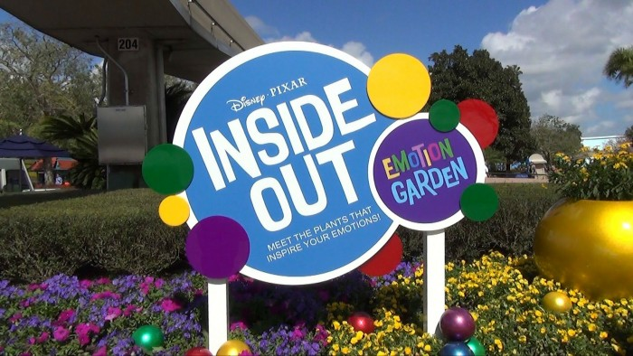 Inside Out Emotion Garden Epcot